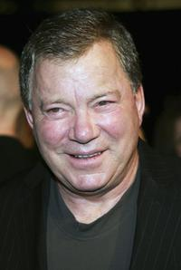 William Shatner at the premiere of