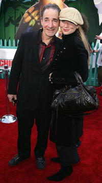 Harry Shearer and Judith at the premiere of