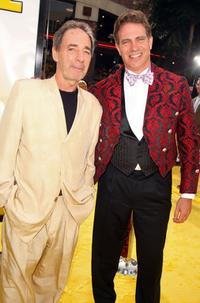 Harry Shearer and David Silverman at the premiere of