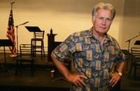 Martin Sheen at the rehearsal for the benefit reading of