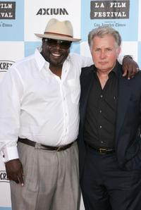 Martin Sheen and Cedric the Entertainer at the Los Angeles Film Festival opening night screening of