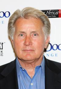Martin Sheen at the Ante Up for Africa celebrity poker tournament during the World Series of Poker at the Rio Hotel and Casino.