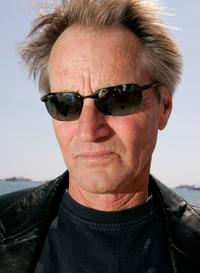 Sam Shepard at the promotion of the film