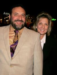 Joel Silver and Dawn Taubin at the premiere of