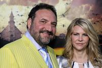 Joel Silver and Karyn Fields at the premiere of