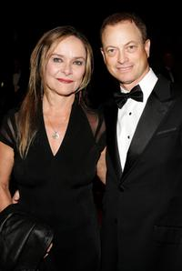 Gary Sinise and his wife Moira Harris at the 17th Annual Palm Springs International Film Festival Gala at the Palm Springs Convention Center.