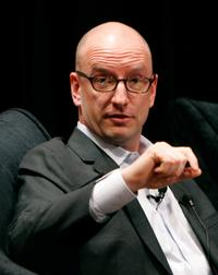 Steven Soderbergh at the panel discussion at the Motion Picture Association of Americas (MPAA) first-of-its-kind symposium