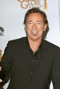 Bruce Springsteen at the 66th Annual Golden Globe Awards.