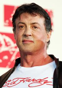 Sylvester Stallone at the Japan premiere of