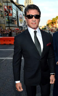 Sylvester Stallone at the California premiere of
