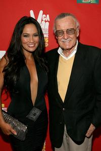 Tia Carrere and Stan Lee at the Spike TV's 2007