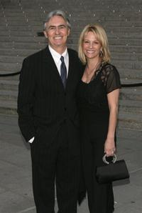 David Steinberg and Robin Steinberg at the Vanity Fair party for the 5th Annual Tribeca Film Festival.