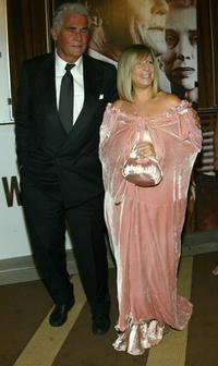 Barbra Streisand and James Brolin at the Showtime Network post 56th Annual Primetime Emmy Party.