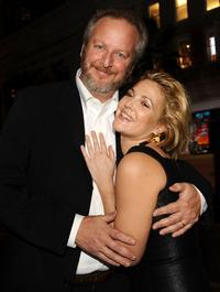 Daniel Stern and Drew Barrymore at the premiere of