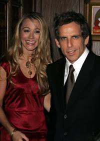 Christine Taylor and Ben Stiller at the screening of
