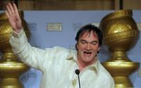 Quentin Tarantino at the 65th Annual Golden Globe Nominations.