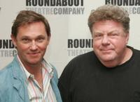Richard Thomas and George Wendt at the Roundabout Theatre Company's Broadway play