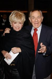 Jack Carter and his wife at the premiere of