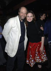 Stephen Tobolowsky and Emily Deschanel at the Stephen Tobolowsky's Birthday Party and DVD release.