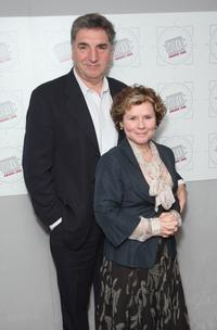 Jim Carter and Imelda Staunton at the Television And Radio Industries Club Award Ceremony.