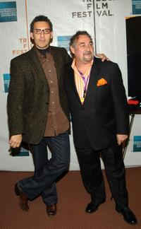 John Turturro and producer Leslie Greif at the 2007 Tribeca Film Festival, at the premiere of