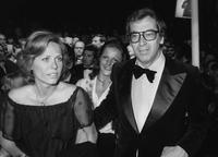 French director Roger Vadim and wife Catherine Schneider, at the Cannes film festival for the screening of Michelangelo Antonionis feature