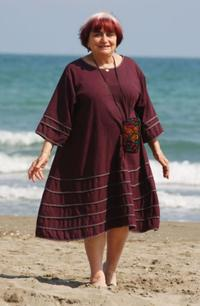 Agnes Varda at the promotion of