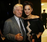 Seymour Cassel and Marion Cotillard at the 11th Annual Hollywood Awards.