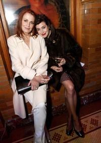 Joanna Cassidy and Sean Young at the after party for the Jules Verne Adventure Film Fest and