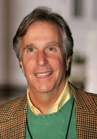 Henry Winkler at the ABC's Winter Press Tour Party.
