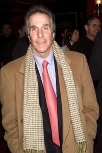 Henry Winkler at the premiere of the