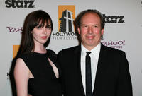 Hans Zimmer and Guest at the 14th Annual Hollywood Awards Gala.
