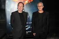 Hans Zimmer and James Newton Howard at the world premiere of