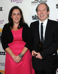 Emma Thomas and Hans Zimmer at the 14th Annual Hollywood Awards Gala.