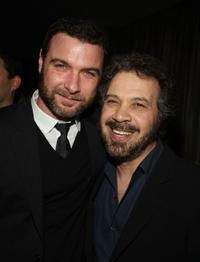 Liev Schreiber and Edward Zwick at the after party of