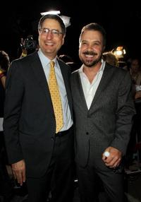 Tom Rothman and Edward Zwick at the Opening Night Gala of