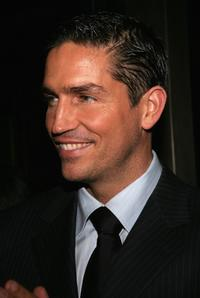 James Caviezel at the world premiere of