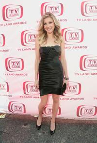 Sarah Chalke at the 6th Annual TV Land Awards.