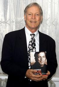 Richard Chamberlain at the promotion of his new book