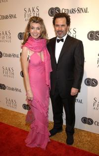 Ali and her husband Dennis Miller at the