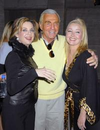 Judith Chapman, Jerry Douglas and Melody Thomas Scott at the party celebrating