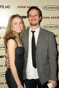 Josh Charles and Guest at the premiere of