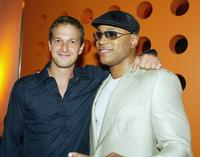 Josh Charles and LL Cool J at the after-party for