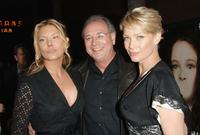 Deborah Kara Unger, Producer Samuel Hadida and Laurie Holden at the premiere of