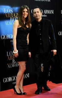 Manuela Velasco and Guest at the premiere of