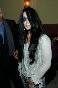 Cher at the premiere of