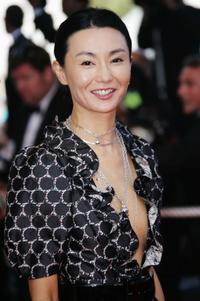 Maggie Cheung at the premiere of