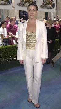 Claudia Christian at the world premiere of