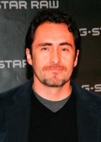 Demian Bichir at the dinner party of