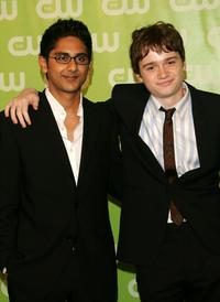 Adhir Kalyan and Dan Byrd at the CW Network Upfront.
